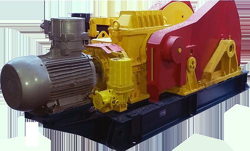 Лебедка шахтная ЛМТ-300