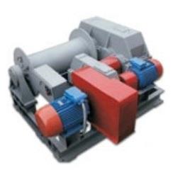 Электрическая тяговая лебедка ТЭЛ-10Д двухскоростная