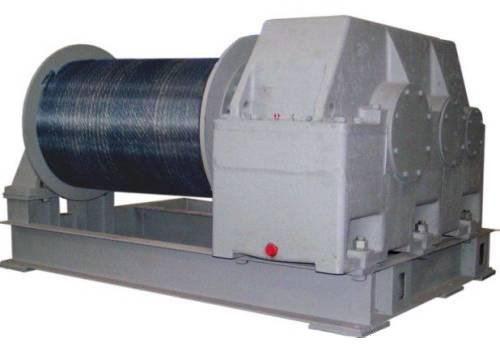 Лебедка тяговая ТЭЛ-20