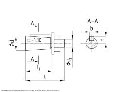 Редуктор 1Ц3У-160 габаритные размеры